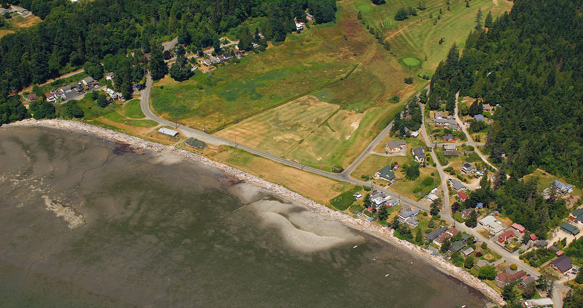 2006 Washington Department of Ecology oblique showing the project site.